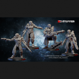 Water Troopers - All 7!