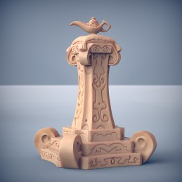 Altar with a Magic Lamp