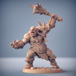 Ogre Marauder with mace...