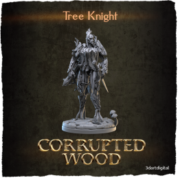 Corrupted Wood, Tree Knight
