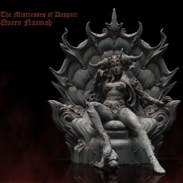 Queen Naamah On The Throne