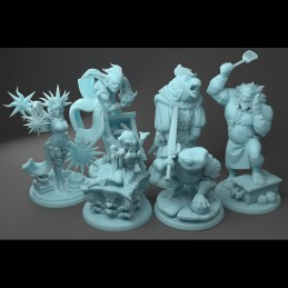 Powerful Wizards - Set of 6...