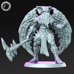 Cthulhu Hacha Winged Monster