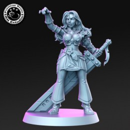 Margie, Warrior with a Sword