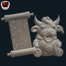 Chinese New Year - Charming Ox