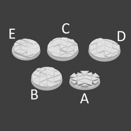 THex Bases - 5x25mm
