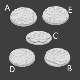 THex Bases - 5x40mm