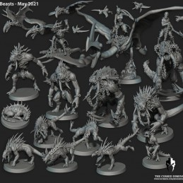 Beasts and Killer Drones Set
