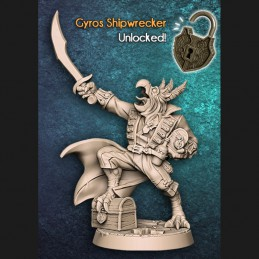 Gyros Shipwrecker - Pirate...