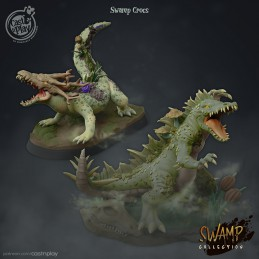 Crocodiles from swamps