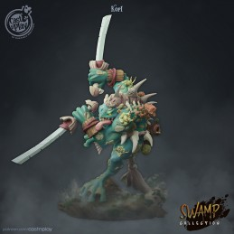 Korl - Warrior from the swamps