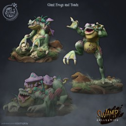Giant Frogs and Toads