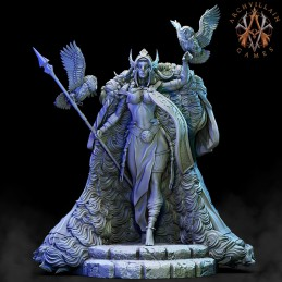 Frost Giant Queen with Owls