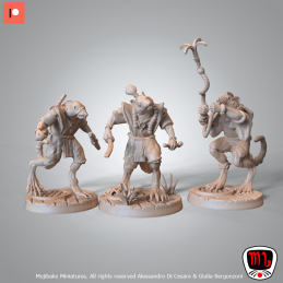 Rat Warriors Set - 3 Rats...
