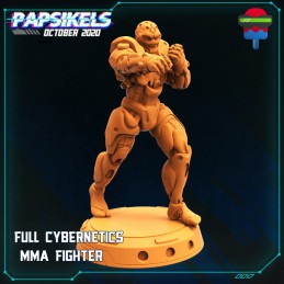 Full Cybernetics MMA Fighter