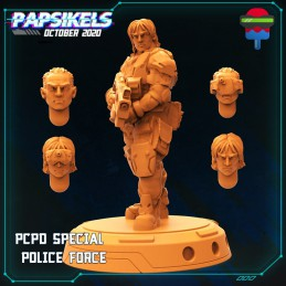 PCPD Special Police Force -...