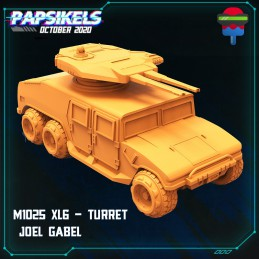 M1025 XL6 - Vehicle with Gun