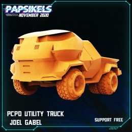 PCPD Utility Truck