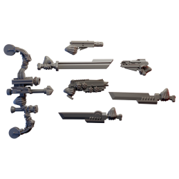 Sci-Fi Amazons Weapon Pack...