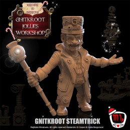 Gnitkroot Steamtrick, The Boss