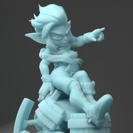 Goblin Artificer with a Cannon