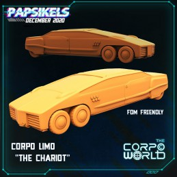 """Corpo Limo """"The Chariot"""""""
