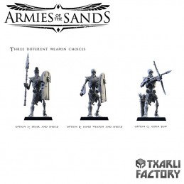 Armies of the Sands Skeletons