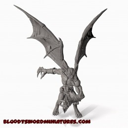 Vampire Lord with bat-wings
