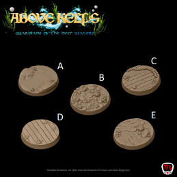 Above Kelps Bases - round 30mm
