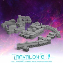 Arvalon-8 Barricades and...