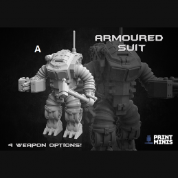 The Authority Armoured Suit