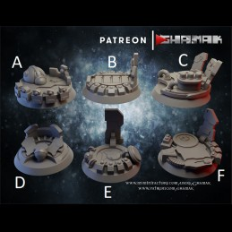 Sci-Fi Bases 25mm
