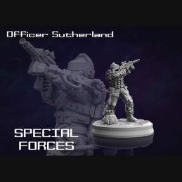 Special Forces Officer...