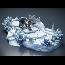 Ice Pit - Arena with Tentacles
