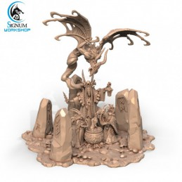 Witches & Clan - Diorama...