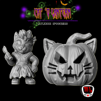 Whiskers' Loot: Cat'o Lantern
