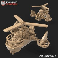 Gyrocopters and Steam Tank - May 2020