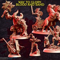 Way to Glory, Blood and Sand - September 2020