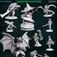 Monster Hunters - March 2021