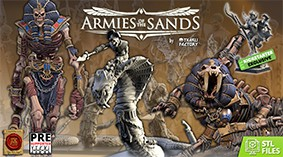 Armies of the Sands ready for print!